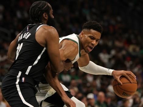El show de Giannis Antetokounmpo: Humilló a Kevin Durant y los Nets con estas jugadas
