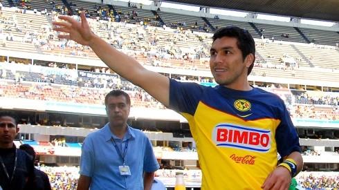 Salvador Cabañas dijo presente en el Estadio Azteca para ver al América