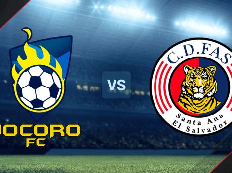Jocoro vs. FAS EN VIVO ONLINE por la Liga Mayor de El Salvador   Hora, TV y minuto a minuto