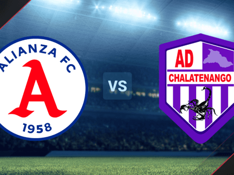 Alianza vs. Chalatenango EN VIVO ONLINE por la Liga Mayor de El Salvador   Hora, canal de TV y minuto a minuto