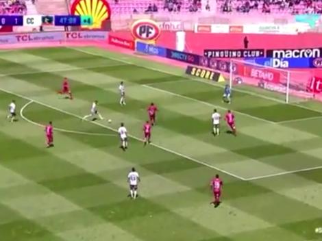 Está imparable: Gabriel Costa metió gol y asistencia con el Colo-Colo de Chile
