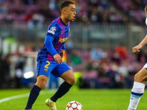 Barcelona y Sergiño Dest vuelven a respirar en la Champions League