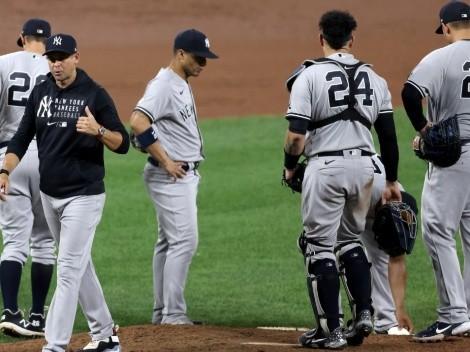 La reacción de Aaron Boone tras ser ratificado como manager de New York Yankees