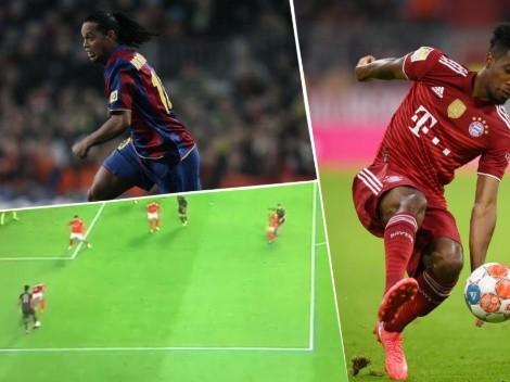Video   Kingsley Coman se convirtió en Ronaldinho por un rato con 'la elástica'