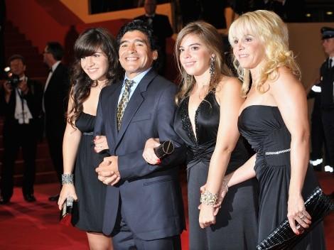 Cómo se conocieron Diego Maradona y Claudia Villafañe