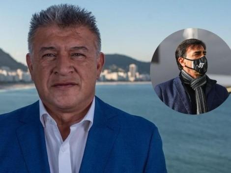 Borghi aconseja a Colo Colo en renovar pronto a Gustavo Quinteros
