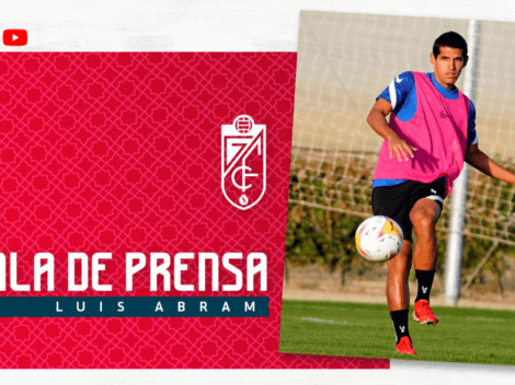 En conferencia de prensa: Luis Abram respondió a las críticas por su inactividad en Granada