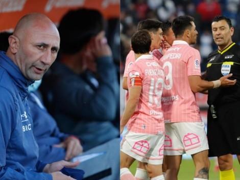 Paulucci se desahoga por el arbitraje de Roberto Tobar