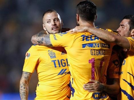 Quiñones y el Diente López anotan dos golazos para que Tigres le gane a Pachuca