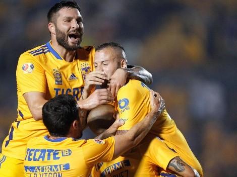 Con un Vigón encendido, Tigres goleó y gustó ante Pachuca