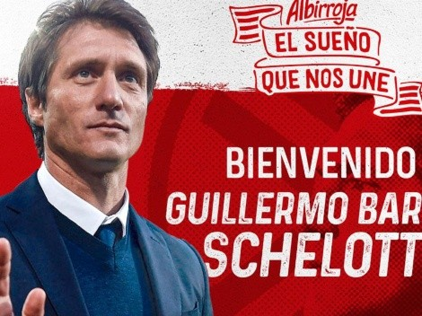 Paraguay confirmó a Guillermo Barros Schelotto como nuevo seleccionador