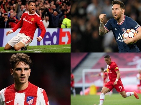 El once ideal de una nueva jornada de la Champions League