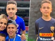 ¿Fue rechazado? Por qué el hijo del Cata juega en Pumas y no en Cruz Azul