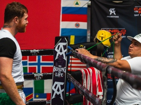Eddy Reynoso destapó los nombres de dos posibles rivales para Canelo Álvarez