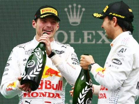 Checo Pérez y Max Verstappen echan carreritas en avalanchas