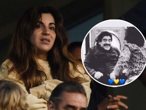 Gianinna Maradona publicó un video de Diego e hizo emocionar a todos