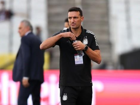 """Scaloni piensa en un """"tapado"""" para la Selección Argentina"""