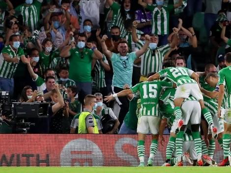 ¡Al fin! Diego Lainez volvió a jugar en Betis