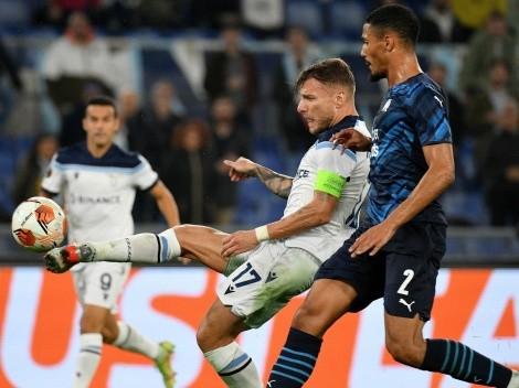 Lazio y Olympique de Marsella se repartieron los puntos en la Europa League