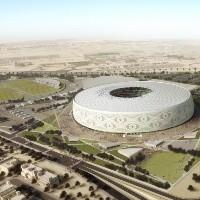 Imágenes espectaculares: Qatar 2022 inaugura un nuevo lujoso estadio para el Mundial