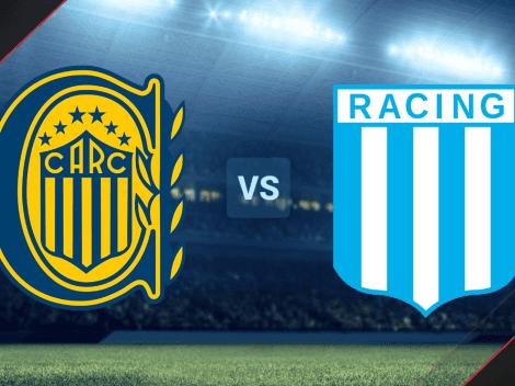 Rosario Central vs. Racing HOY por la Liga Profesional: hora y canales de TV para VER EN VIVO y EN DIRECTO