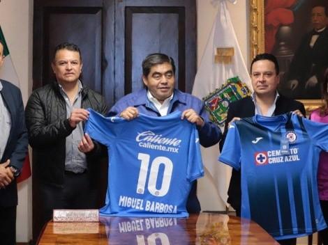 ¿Nuevo estadio? Directiva azul se reunió con autoridades de Puebla