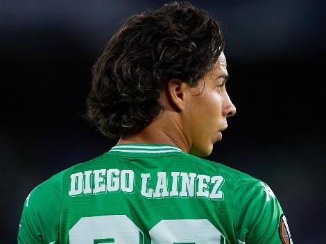 ¡Aprobado! Diego Lainez recibió buenas notas de su DT y de la prensa