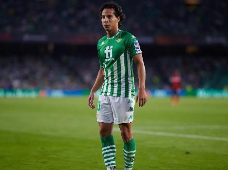 Diego Lainez asume ser el futuro del Betis y de la selección mexicana