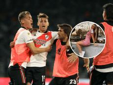 """Morena Beltrán, rendida a los pies de un jugador de River: """"Es emocionante"""""""