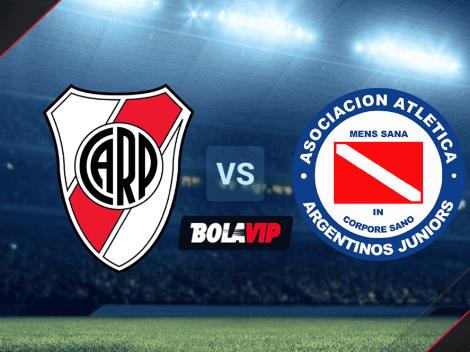 Cuándo juegan River vs. Argentinos Juniors por la Liga Profesional: Hora y canales de TV