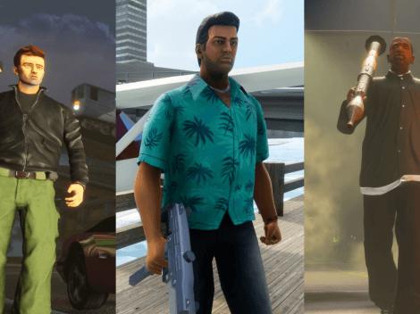 GTA Trilogy será lançado em 11 de novembro