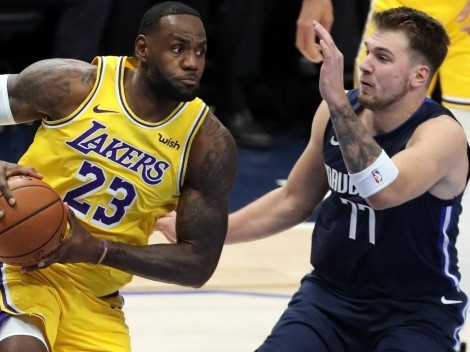 Luka Doncic alcanza récord en NBA que jamás consiguió LeBron James