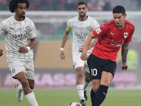 Cinco conclusiones del partido de James Rodriguez en la final de la Copa de Catar