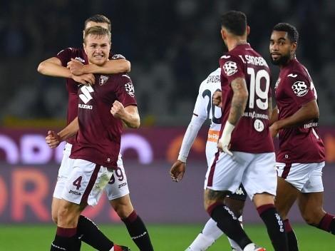 Pablo Galdames tuvo un mal debut en el Genoa con derrota ante Torino