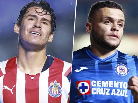 Cómo ver Chivas de Guadalajara vs. Cruz Azul | Día, hora y TV del duelo EN VIVO correspondiente al Torneo Grita México A21 por Liga MX