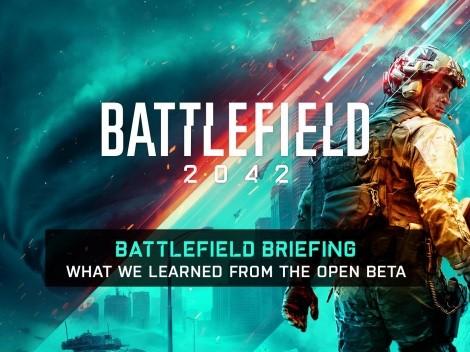 Battlefield 2042 receberá mudanças após resultados do Beta Aberto