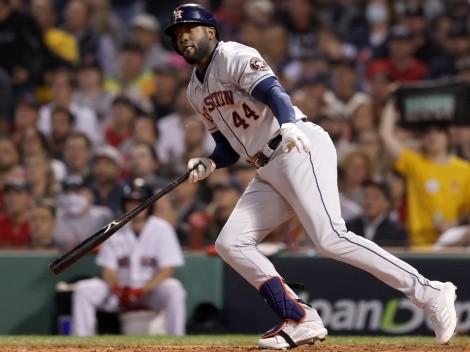 VIDEO: Astros toman ventaja sobre Red Sox gracias a un doble de Yordan Álvarez