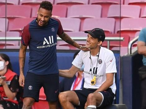 """Thomas Tuchel: """"Es más fácil entrenar en Chelsea a Lukaku, que a Neymar y Mbappé, en PSG"""""""