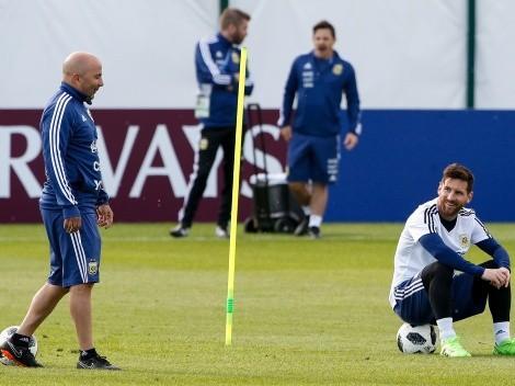 ¡Todo el mundo en vilo! Se viene el cruce entre Messi y Sampaoli