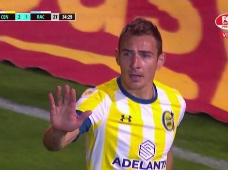 VIDEO | Ruben pidió no salir y metió el gol del triunfo para Central