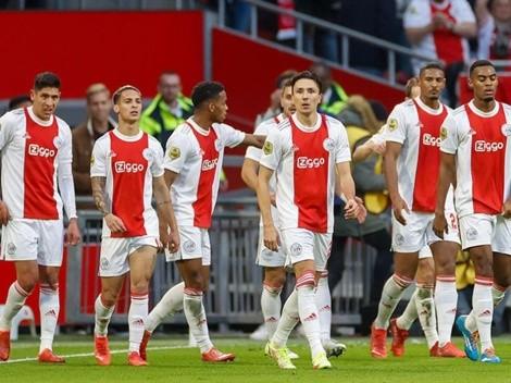 Ajax aplastó a PSV con participación de Edson Álvarez y Erick Gutiérrez