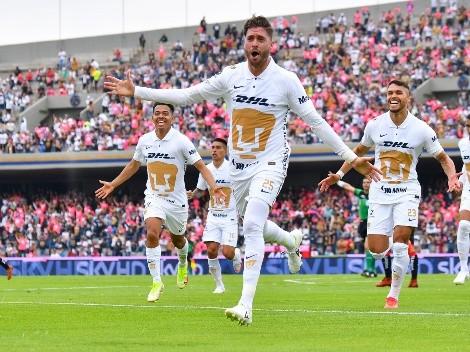¡Pumas aplastó a Tijuana y sueña con el Repechaje!