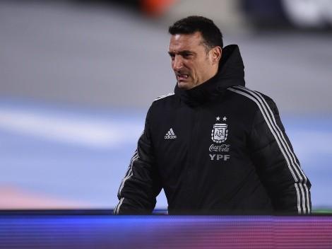 Atento Scaloni: se desgarró uno de los posibles convocados a la Selección Argentina