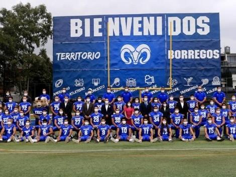 Borregos TEC campus Edomex presentó su roster para la nueva temporada de ONEFA