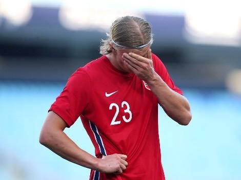 La lesión de Haaland podría dejar a Noruega sin Mundial