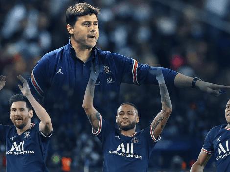 El reclamo de Neymar y Mbappé a Pochettino tras decir que Messi merece el Balón de Oro