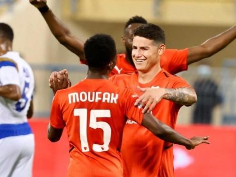 James jugó sus primeros 90 minutos en Catar y pide pista en la Tricolor