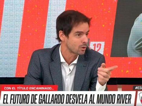 """Closs sorprendió con su destino favorito para Gallardo: """"Se lo tendrían que llevar"""""""