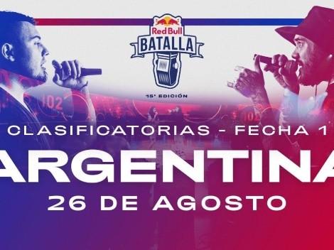 Red Bull Argentina 2021: quiénes son los 16 clasificados para la nacional