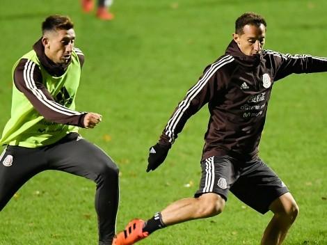 'Si tengo que golpear a Guardado o Lainez, lo haré': Héctor Herrera